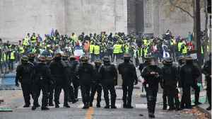 'Yellow Vests' March Through Paris In 10th Weekend of Protests [Video]