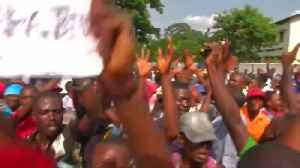 Demonstrators sing for DRC's Tshisekedi as they await presidential results [Video]
