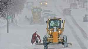 Winter Storm Slams U.S. From The Midwest To The Northeast [Video]