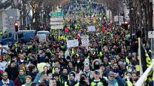 'Yellow Vest' Protests Continue For 10th Consecutive Week [Video]
