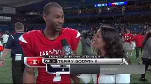 Georgia wide receiver Terry Godwin reflects on two-touchdown performance in Shrine Game [Video]