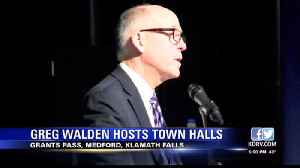 Walden Wraps Up Southern Oregon Town Halls [Video]