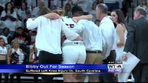 Mississippi State's Bibby out for season with knee injury [Video]