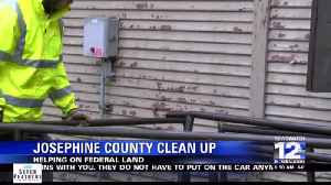 Josephine County Cleans Up Federal Lands [Video]