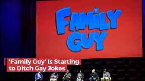 Family Guy Is Going To Stop The Gay Jokes [Video]