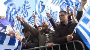 News video: Thousands clash with police in Athens over Macedonia name deal