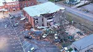 Drone footage shows Alabama town of Wetumpka devastated by rare winter tornado [Video]