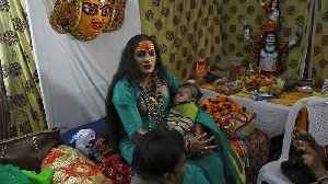 From pariah to demi-god: transgender leader a star at Indian festival [Video]