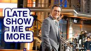 LATE SHOW ME MORE: Colbert's House [Video]