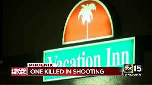 Man dies after shooting at hotel near I-17 and Thomas Road [Video]
