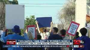 2nd Annual Women's March in Kern County [Video]