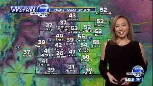 Milder Sunday, with snow on the way this week! [Video]