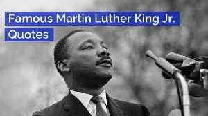 News video: Martin Luther King Jr: Memorable Quotes