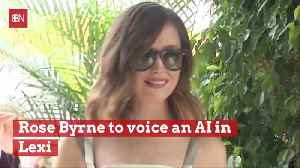 Rose Byrne Will Be An AI Voice In New Tech Comedy [Video]