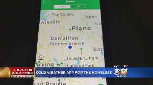 Cold Weather App Helps Homeless Find Shelters Nearby [Video]
