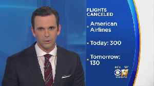 Flights Canceled Due To Winter Storm [Video]