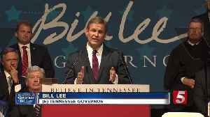 Republican businessman Bill Lee has been sworn in as 50th Tennessee governor [Video]