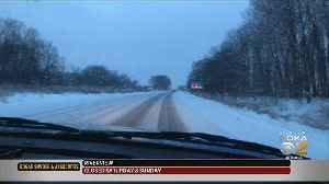 Pittsburgh Weather: Road Conditions Slippery North Of The City [Video]