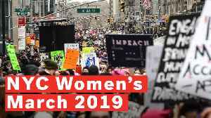 Women's March On NYC 2019 Spreads Message Of Unity Despite Controversy [Video]