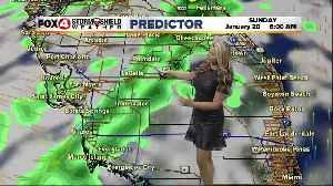 FORECAST: Cold front brings rain and much cooler temperatures [Video]