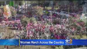 Tens Of Thousands Demand Equality At Third Annual Women's March [Video]