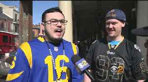 Rams Fans Pour Into New Orleans Ahead Of Big Game [Video]