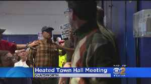 Tempers Flare At Cong. Brad Sherman Town Hall Meeting [Video]