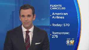 Additional Flights Are Canceled By American Airlines [Video]