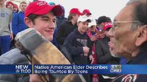 Teens In Make America Great Again Hats Taunted A Native American Elder At The Lincoln Memorial [Video]