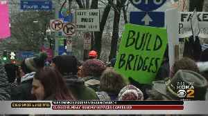 3rd Annual Women's March Held In Pittsburgh [Video]