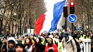 France: 'Yellow vests' protest despite Macron's grand debate [Video]