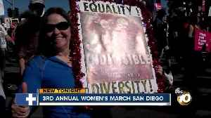 Women's March San Diego not just about women's issues [Video]