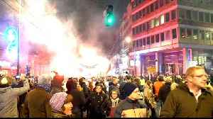 News video: Protesters push for opposition, media rights in Serbia