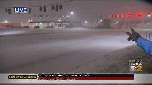 Cranberry Seeing Snow Covering The Roads [Video]