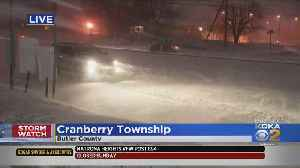Pittsburgh Weather: Areas North Of Pittsburgh Reciving Most Snowfall [Video]
