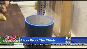 News video: Alexa Picks Chiefs To Beat Patriots In AFC Title Game