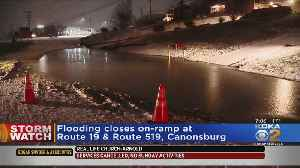 On Ramp Flooded In Washington County [Video]