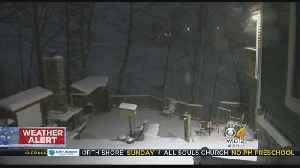 Snow Creating A 'Beautiful Mess' In Worcester [Video]