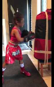 4-year-old boxing prodigy shows off some impressive skills [Video]
