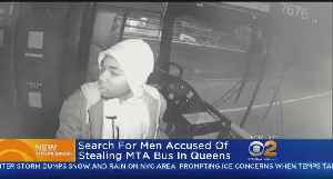 News video: New Images Released Of MTA Bus Thief
