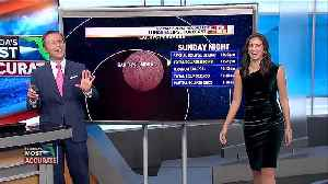 News video: Total lunar eclipse Sunday night