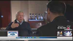 Robert Kraft Reflects On His 25 Years Of Owning New England Patriots [Video]