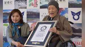 News video: World's Oldest Man Dies In Japan At Age 113