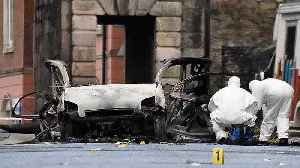 Two arrested over Derry blast [Video]