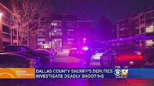Man Shot, Killed In Dallas County Apartment Complex [Video]