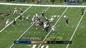 Garrett Griffin's first catch of the year goes for Saints TD [Video]