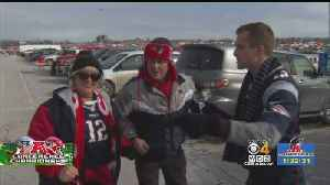 Patriots, Chiefs Fans Prepare For AFC Championship Game With Tailgating [Video]