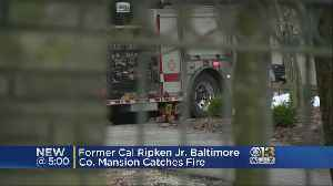 Former Cal Ripken Jr. Mansion Contained After Catching Fire [Video]