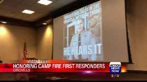 Sheriff Honea and Emergency Responders Honored for Heroism [Video]