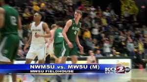 Griffon men lose to nw [Video]